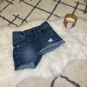 American Eagle Medium-Wash Jean Shorts